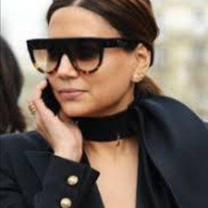 3ce48edf4a CELINE Flat Top Geometric Sunglasses Source · Celine Accessories Flat Top  Sunglasses Poshmark